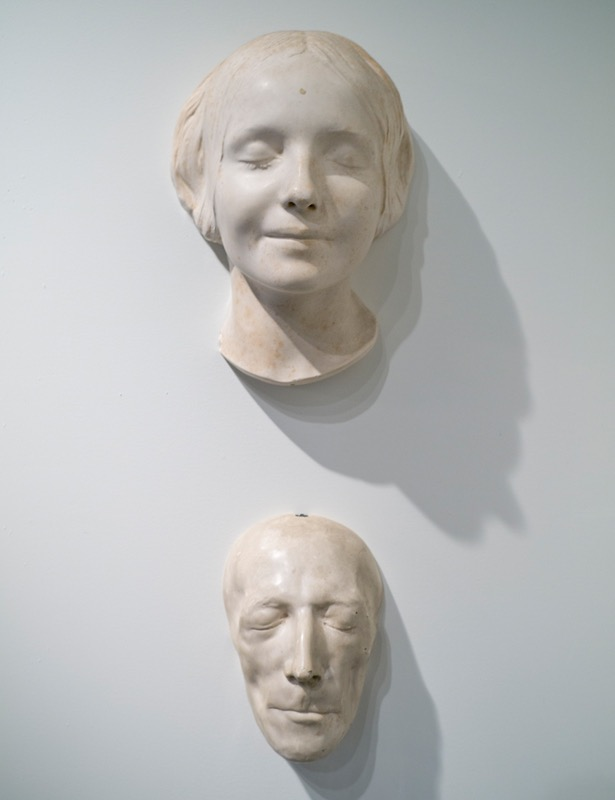 Death masks, The Art of Mourning Exhibition