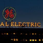 General Electric sign on G.E. Administration building