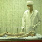alien autopsy exhibit in Roswell UFO Museum