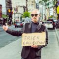 John Waters hitchhiking