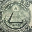 The Great Seal on reverse side of U.S. one-dollar bill