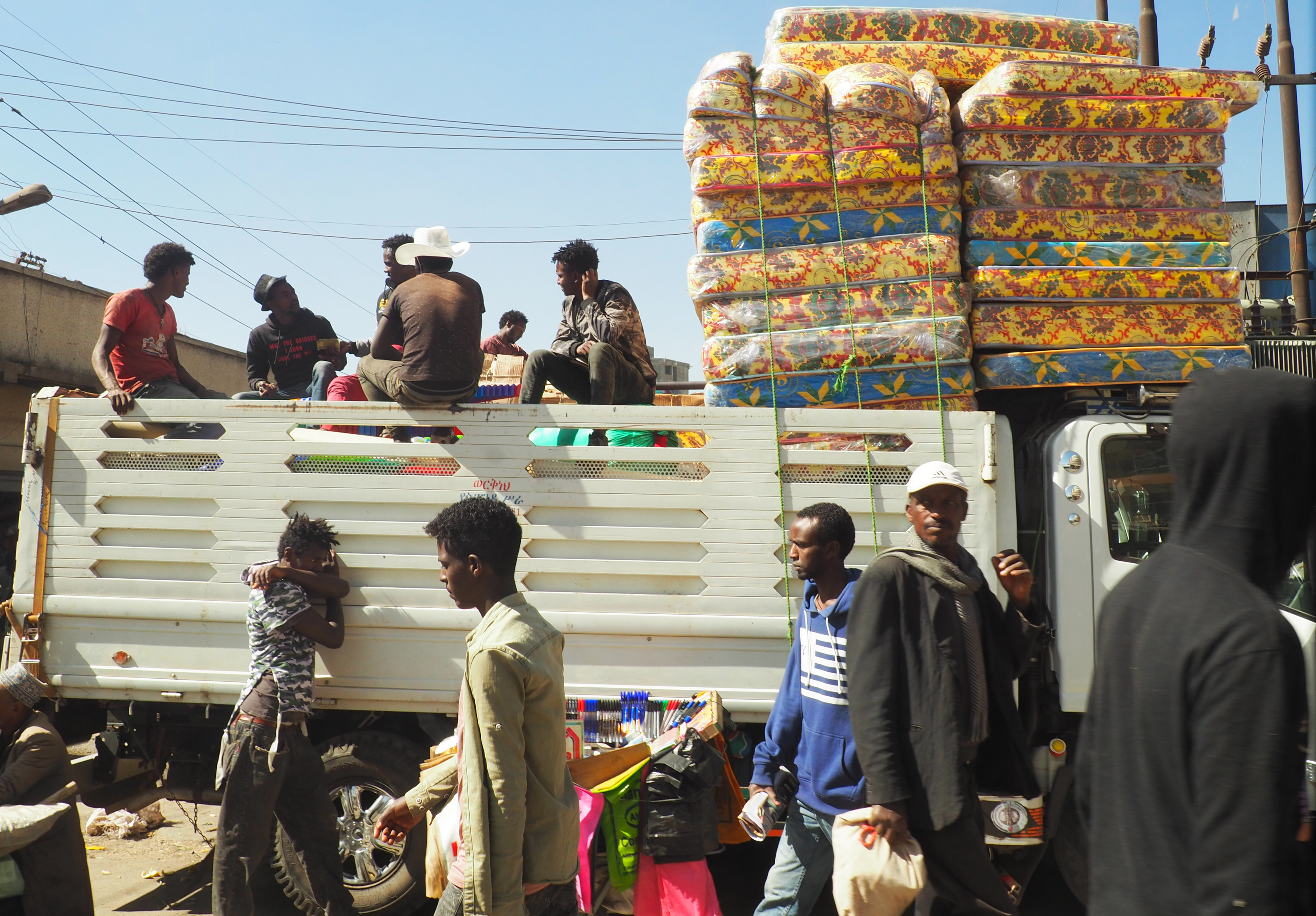 The Addis Mercato is the largest open-air market in Africa.