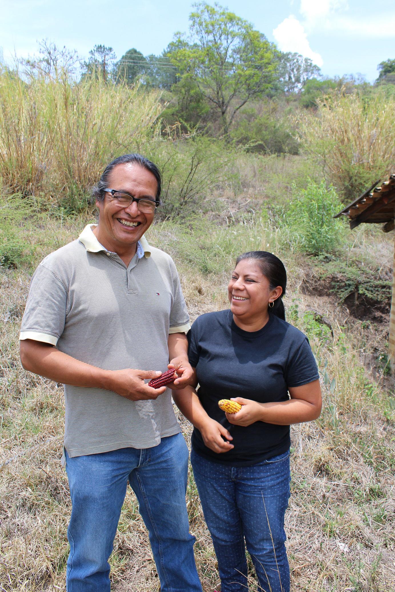 Gonzalez Rojas and Gabriela Linares Sosa are activists for indigenous communities with the Union of Organizations of the Sierra Juarez of Oaxaca (UNOSJO). <em>Seth Jovaag(TTBOOK)</em>