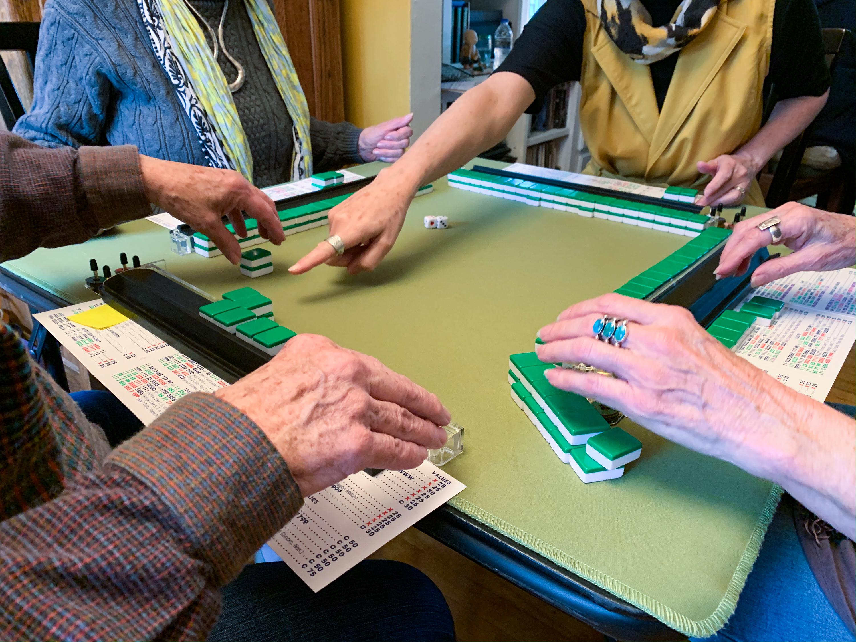 Mahjong game in Madison, Wisconsin.&nbsp;<em>Angelo Bautista (TTBOOK)</em>
