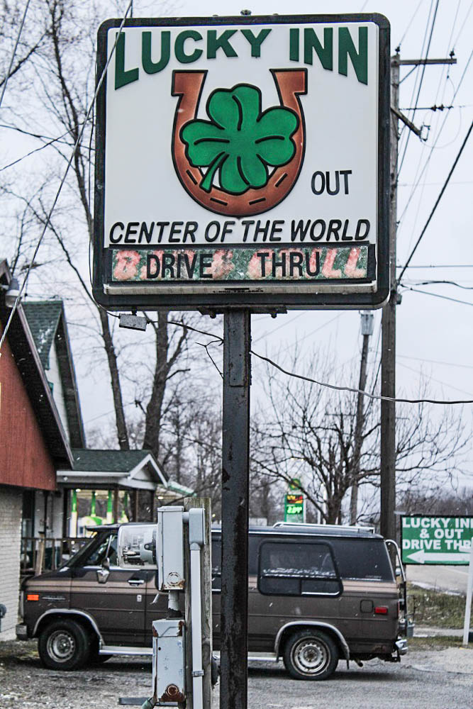 The Lucky Inn was once a hallmark of Center of the World. Last year the tavern closed. It is now for sale for $85,000. It was purchased 10 years ago for $125,000.<em>Seth Jovaag (TTBOOK)</em>