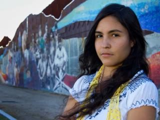 Mexican American/Raza studies student Pricila from the film Precious Knowledge.
