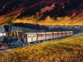 """Prairie fires of the great west"""