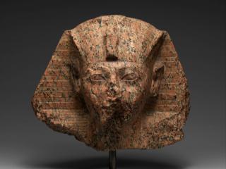 Hatshepsut statue, partially defaced