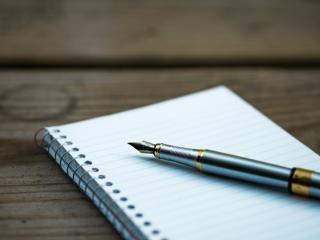 Procrastinating while writing.