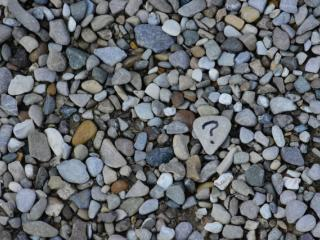 questions and stones
