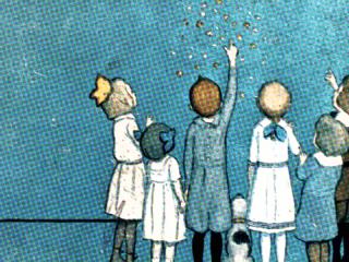 children reaching for the stars