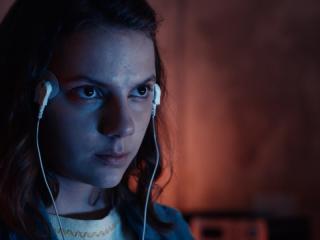 "Dafne Keene as Lyra Silvertongue on HBO's ""His Dark Materials"""