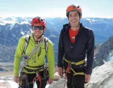 Tommy Caldwell and Alex Honnold