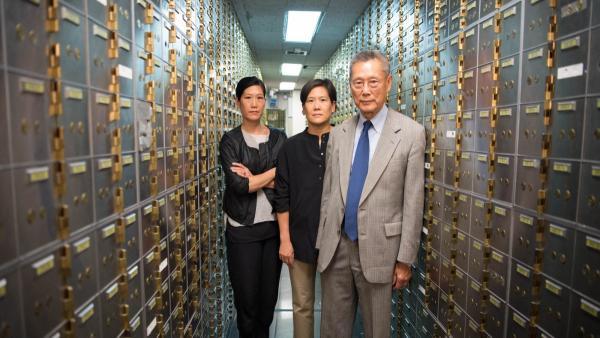 Vera Sung, Jill Sung, and Thomas Sung from ABACUS.