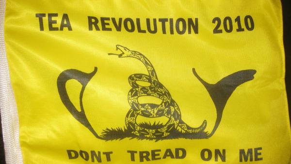 Tea Party Flag
