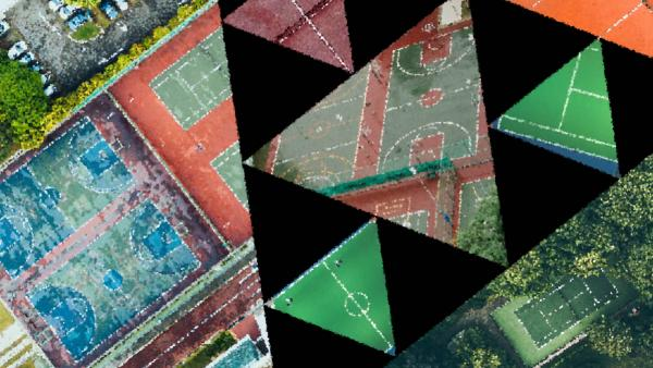 Tennis in the Sierpinski triangle
