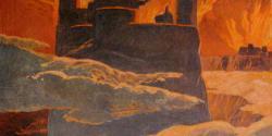 A scene from the last phase of Ragnarök