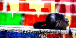 Headphones in the city