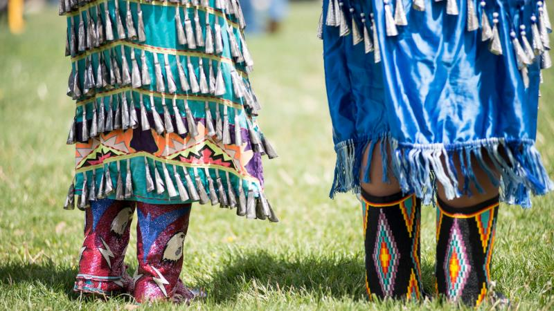 A powwow in 2015 at the Institute for American Indian Arts.