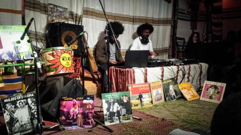 A show at Fendika in Addis Ababa.
