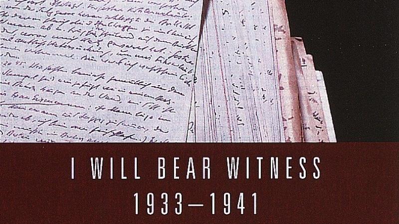 """I Will Bear Witness"" by Victor Klemperer"