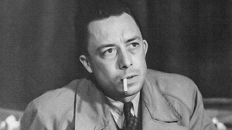Albert Camus in the 1950s