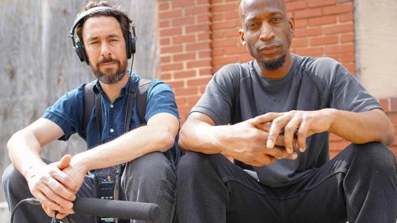Left to Right: Aaron Henkin, Wendel Patrick (WYPR)