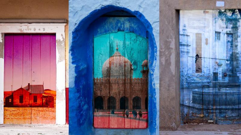 Doors across borders.