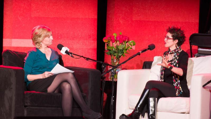 Anne Strainchamps and Lisa Diamond