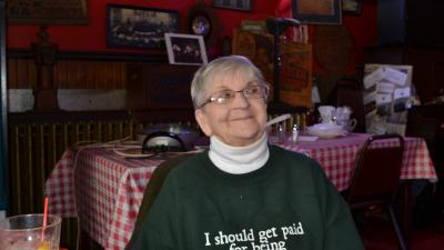 Marcy at the Holler House