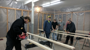 "Students receive training through the ""Construction Essentials"" course in Ashland"