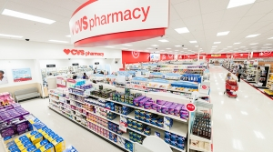 CVS Health within a Target store