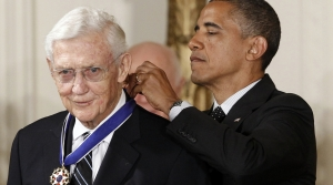 President Barack Obama awards the Medal of Freedom to John Doar
