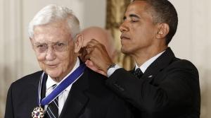 President Barack Obama awards the Medal of Freedom to John Doar