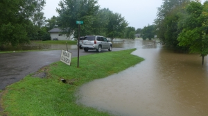 Flooding in Centerville