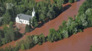 Flooding on the Bad River Reservation