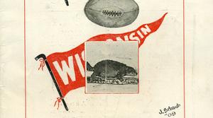 November 13, 1909 Game Official Program