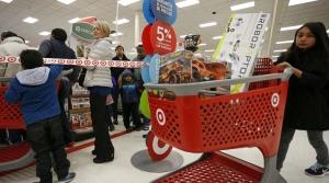 People shopping at Target