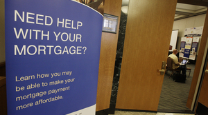 Mortgage help sign