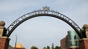 St. Norbert College sign