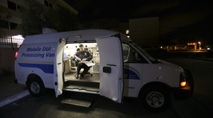 Mobile DUI processing van