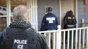 U.S. Immigration and Customs Enforcement agents
