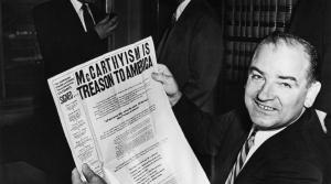 Wisconsin Sen. Joseph McCarthy