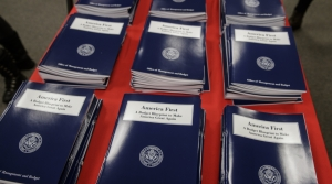 "Donald Trump's ""America First"" budget"