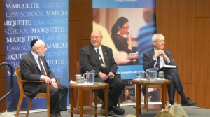 State School Superintendent Candidates Lowell Holtz and Tony Evers