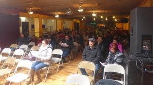 Mixed status immigrant families attend a workshop held by Voces de la Frontera