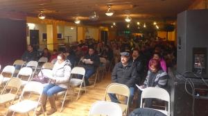 Mixed status immigrant families attend a workshop held by Voces de la Frontera