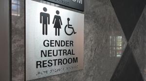 transgender bathroom sign