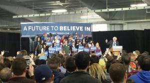 Bernie Sanders rally in West Allis