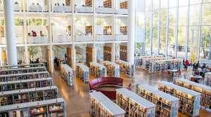 library interior